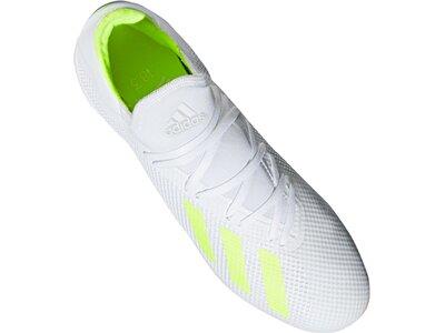 ADIDAS Fußball - Schuhe - Halle X Virtuso 18.3 IN Halle Weiß