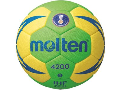 MOLTEN Handball HXA 2 IHF Grün