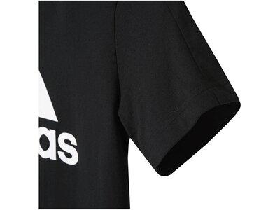 ADIDAS Boys Shirt Essentials Logo T-Shirt Kurzarm Grau
