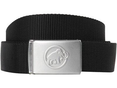 "MAMMUT Gürtel ""Logo Belt"" Schwarz"