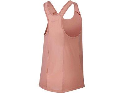 """NIKE Damen Funktionsshirt """"Dry Flow"""" Ärmellos Pink"""