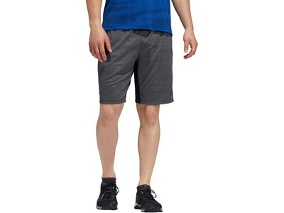 "ADIDAS Herren Trainingsshorts ""4KRFT Winterized Embossed 9-inch"" Grau"