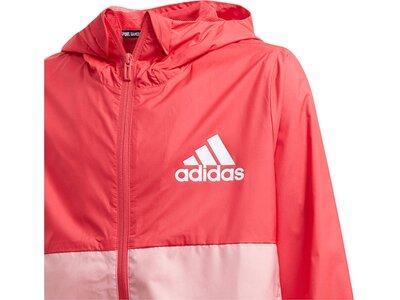 ADIDAS Mädchen Kleinkind Trainingsjacke Rot
