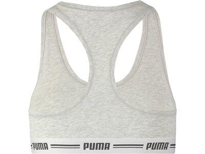 PUMA Damen Sport-BH Iconic Racer Back Bra Silber