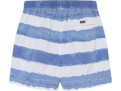 CHIEMSEE Badeshorts im Used-Look mit Reißverschlusstasche Blau