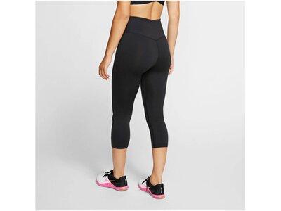 NIKE Damen Fitness-Tights/Capri-Hose 3/4-Länge Schwarz