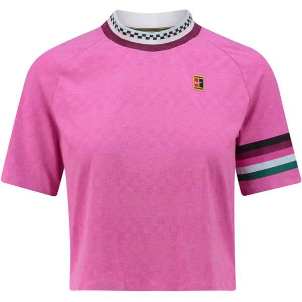 NIKE Damen Tennisshirt Breathe Slam Kurzarm | Sportbekleidung > Sportshirts > Tennisshirts | Nike