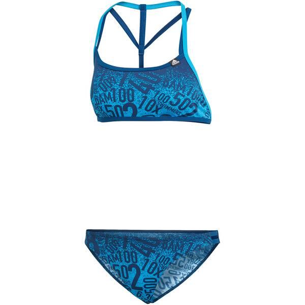 Bademode - ADIDAS Damen Bikini Pro Collab › Braun  - Onlineshop Intersport