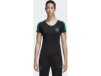 ADIDAS Damen T-Shirt DFB Schwarz