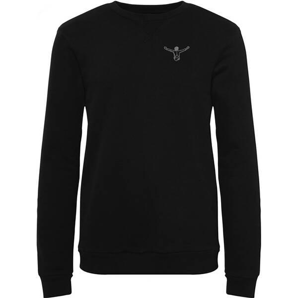CHIEMSEE Sweatshirt einfarbig mit Logo