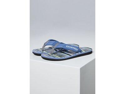 CHIEMSEE Zehentrenner mit Riemen aus Neopren Blau