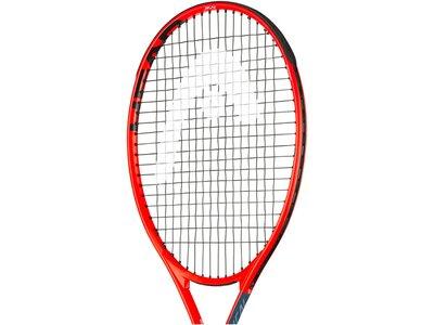"HEAD Kinder Tennisschläger ""Radical Jr. 25"" - besaitet Rot"