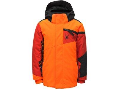 """SPYDER Jungen Skijacke """"Challenger Jacket"""" Orange"""