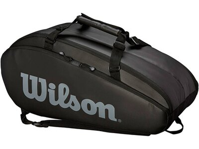 "WILSON Tennistasche ""Tour 2 Compartment Large 9er Bag"" Schwarz"