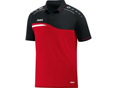 JAKO Herren Polo Competition 2.0 Rot