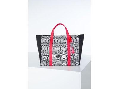 CHIEMSEE Handtasche Black&White Shopper Schwarz