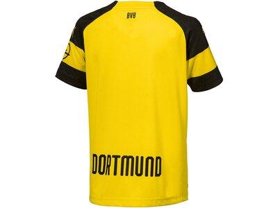 "PUMA Kinder Fußballtrikot ""BVB Home Trikot Kids 2018/2019"" Kurzarm Gold"
