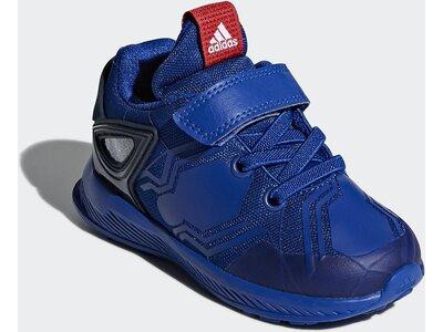ADIDAS Kinder RapidaRun Spider-Man Schuh Blau