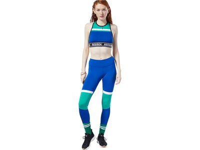 "REEBOK Damen Trainings-Tights ""MYT Paneled Polytight"" Silber"