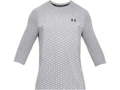 """UNDERARMOUR Herren Trainingsshirt """"Vanish Seamless"""" 3/4-Arm Grau"""
