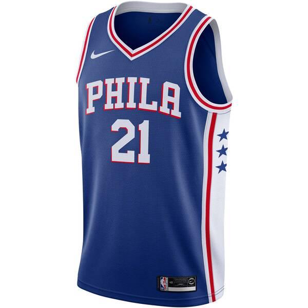 """NIKE Herren Basketballtrikot """"Ben Simmons Icon Edition Swingman (Philadelphia 76ers)"""" Ärmellos"""