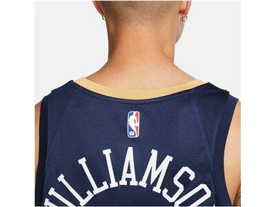 "NIKE Herren Basketballtrikot ""NBA Zion Williamson New Orleans Pelicans Icon Edition 2020"" Blau"