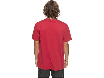 "QUIKSILVER Herren T-Shirt ""Mornslides"" Rot"