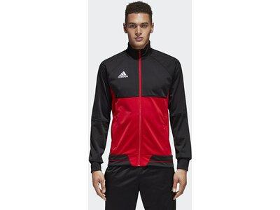 ADIDAS Fußball - Teamsport Textil - Jacken Tiro 17 Trainingsjacke Rot