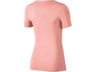 "NIKE Damen Fitnessshirt ""Pro Top"" Kurzarm Pink"