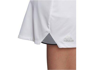 """ADIDAS Damen Tennisrock """"Club"""" Silber"""