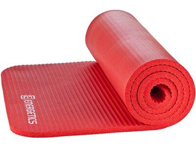 """ENERGETICS Fitnessmatte / Gymnastikmatte """"NBR Professional"""" Rot"""