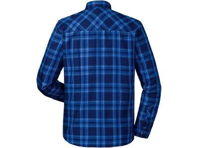 SCHÖFFEL Herren Wanderhemd Shirt Maastricht2 Langarm Blau