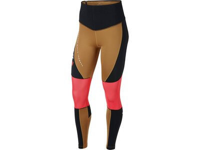 "NIKE Damen Trainingstights ""Dri-Fit Power"" Braun"