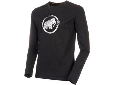 "MAMMUT Herren Shirt ""Logo"" Langarm Schwarz"
