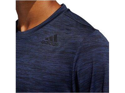 "ADIDAS Herren Trainingsshirt ""Gradient Tee"" Blau"