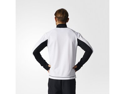 ADIDAS Fußball - Teamsport Textil - Sweatshirts Tiro 17 Trainingstop Dunkel Schwarz