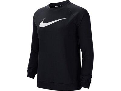 NIKE Running - Textil - Sweatshirts Swoosh Sweatshirt Running Damen Schwarz