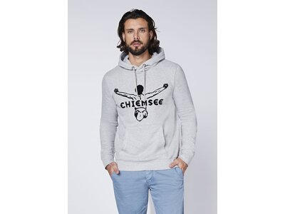 CHIEMSEE Sweatshirt aus GOTS-zertifizierter Bio-Baumwolle Grau