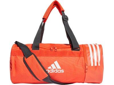 """ADIDAS Sporttasche """"Convertible 3-Streifen Duffelbag M"""" Weiß"""