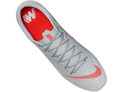 NIKE Fußball - Schuhe - Stollen Mercurial Vapor XII Academy SG-Pro Silber