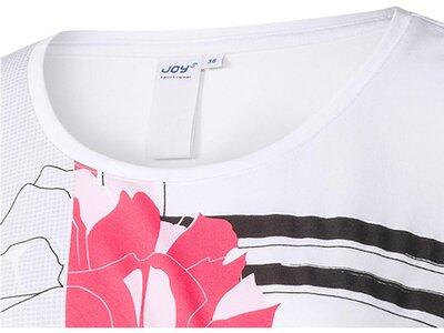 """JOY Damen Trainingsshirt """"Antje"""" Kurzarm Weiß"""