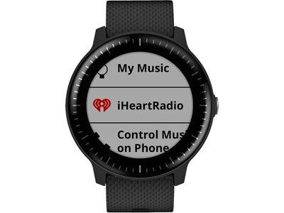 """GARMIN GPS-Multisport-Smartwatch """"vivoactive 3 Music"""" Schwarz"""
