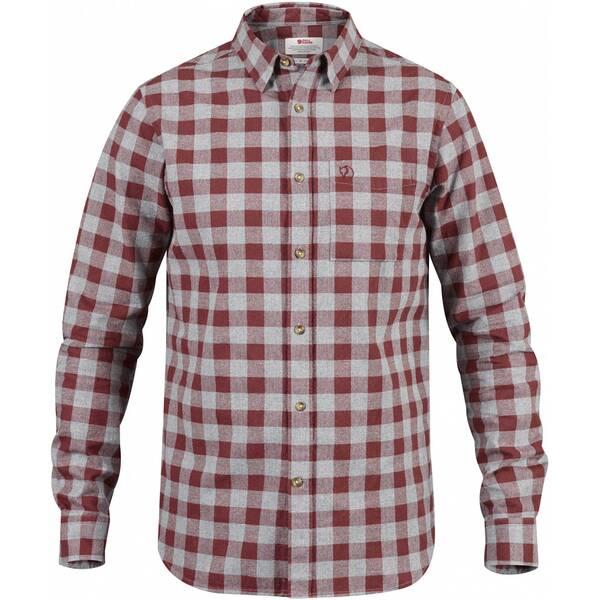 FJÄLLRAVEN Herren Langarmshirt Övik Check Shirt LS M