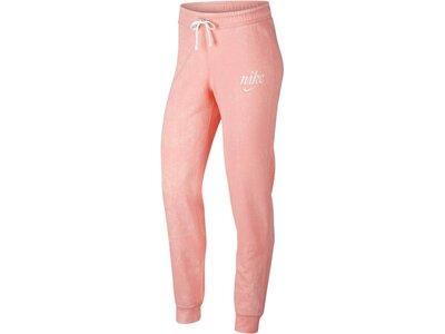 NIKE Damen Sweathose Pink