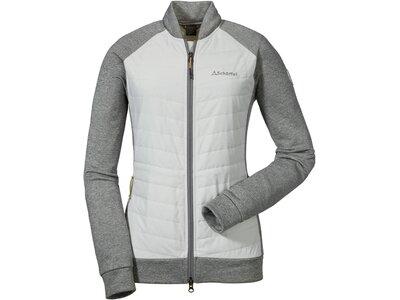 SCHÖFFEL Damen Jacke Hybrid Fleece Thun Grau