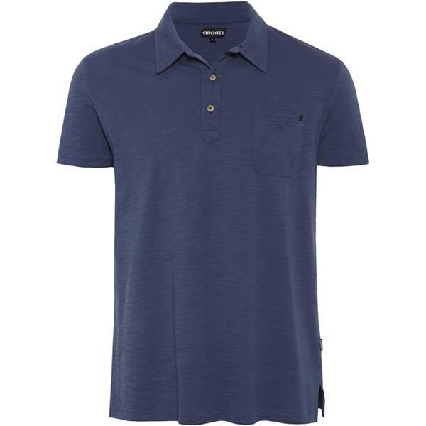 CHIEMSEE Poloshirt einfarbig mit Brusttasche