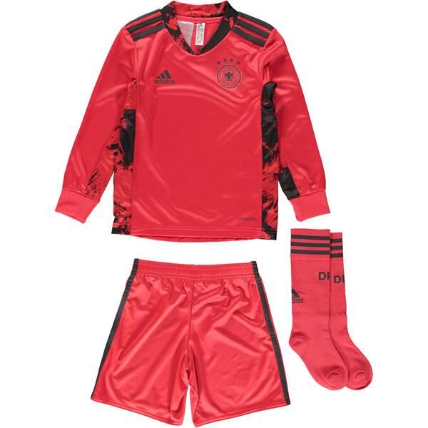 "ADIDAS Kleinkinder Torwartausrüstung Trikot + Shorts ""2021 Germany Home Goalkeeper Minikit"""