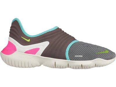 NIKE Damen Running Schuhe WMNS NIKE FREE RN FLYKNIT 3.0 Grau