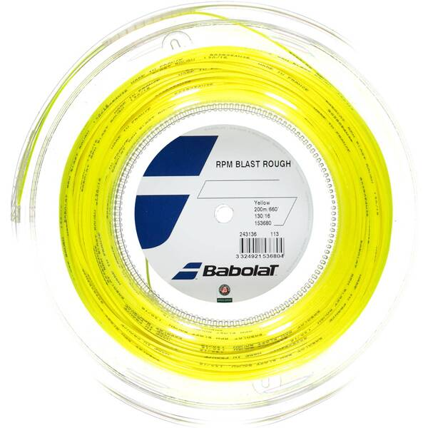 "BABOLAT Saitenrolle ""RPM Blast Rough Yellow"" 200 m"