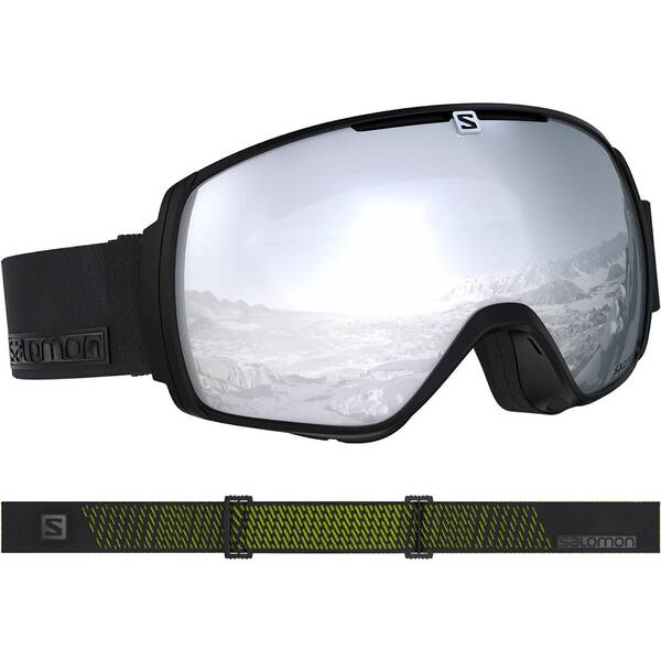SALOMON Ski- und Snowboardbrille XT One | Uhren > Keramikuhren | Black - Neon | SALOMON